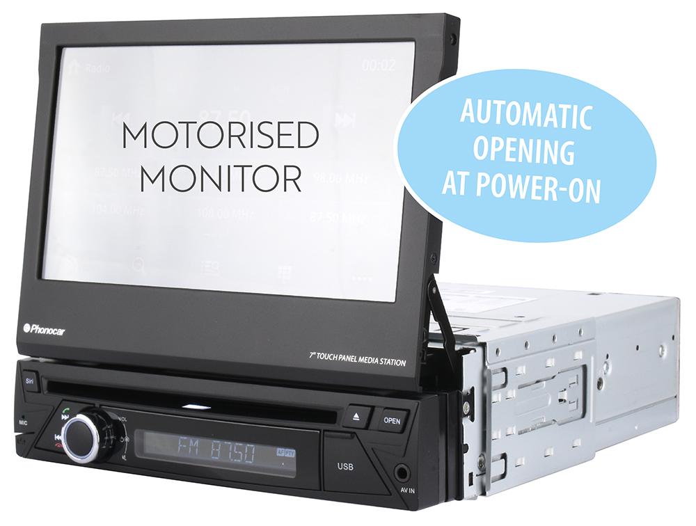 Phonocar VM046 Motorised Monitor
