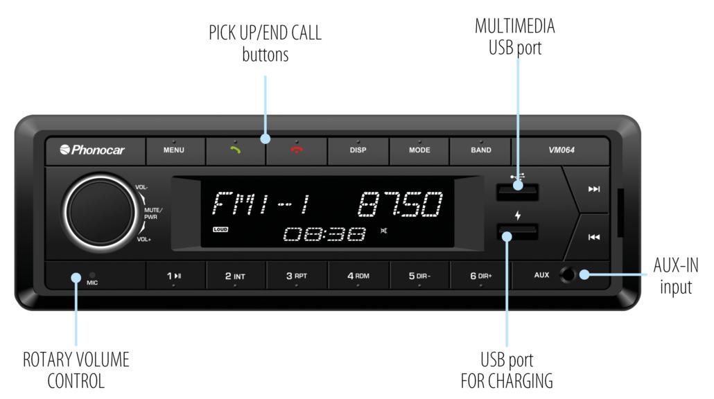 Phonocar VM064 2