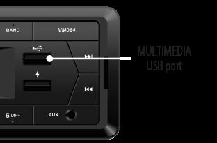 Phonocar VM064 Multimedia USB