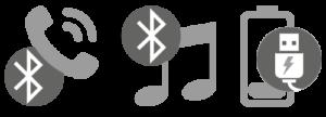 Phonocar VM064 icone connettività