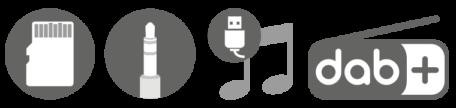 Phonocar VM064 icone musica